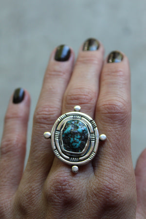 Compass Collection Ring #1- Size 6