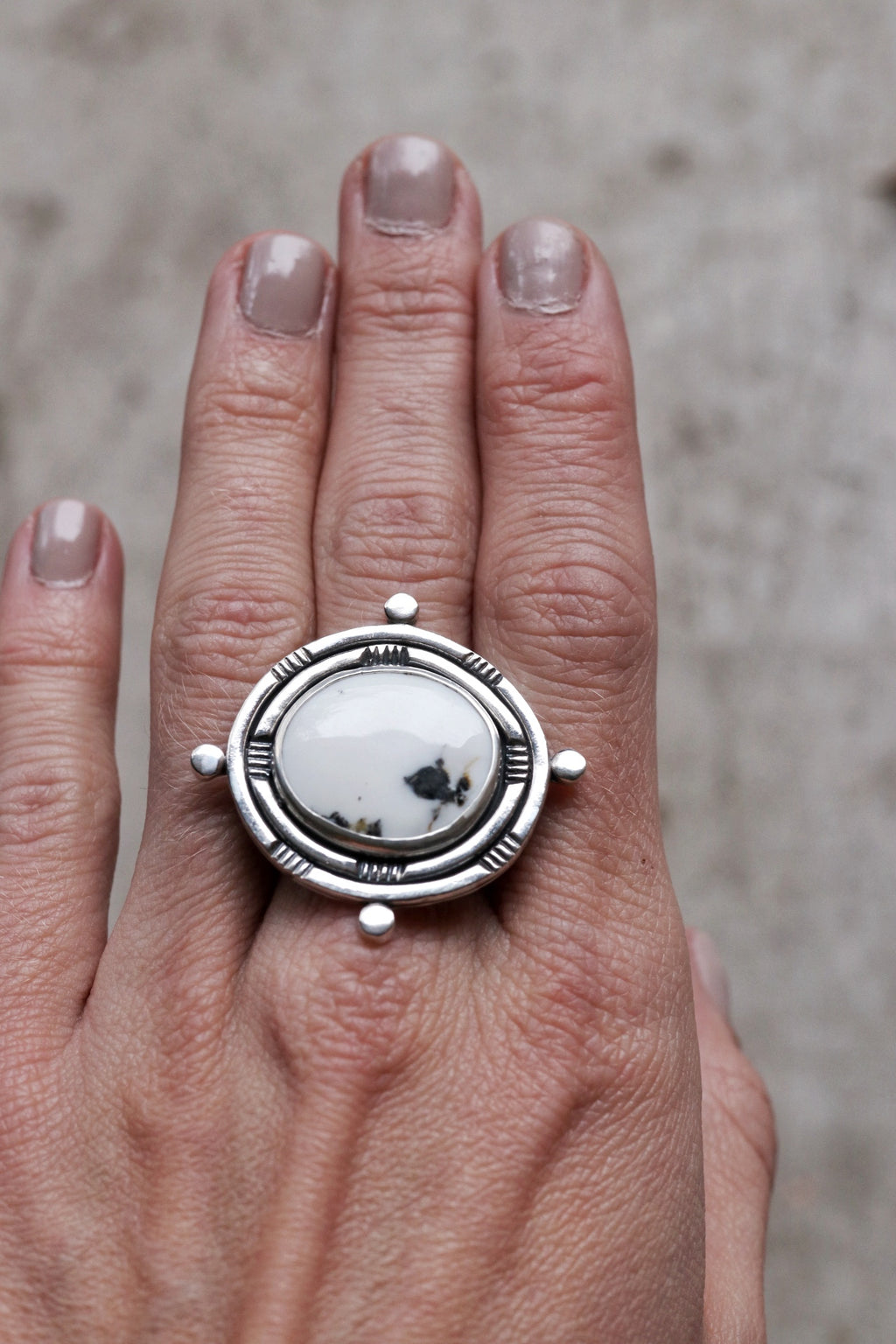 Compass Collection Ring #7- Size 7