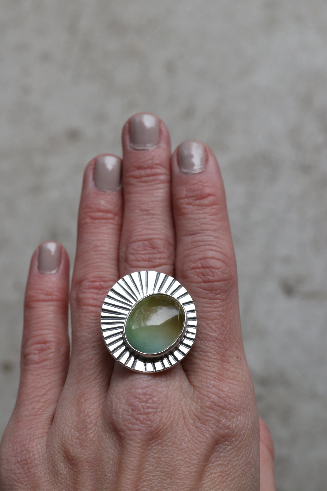Sunburst Ring #19 - Size 5