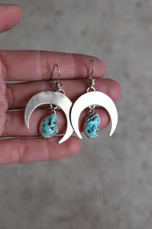Small Crescent Moon Earring #20