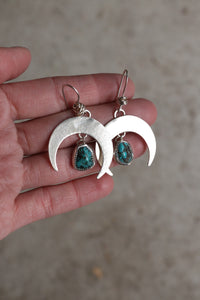 Small Crescent Moon Earring #24