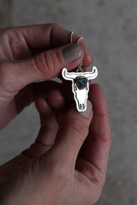 Bull Skull Necklace #39