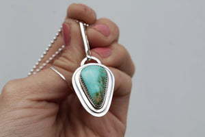 Royston Turquoise & Sterling Layered Necklace