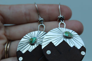 Huck Phinn x Vancrafted Mountain Earrings #1