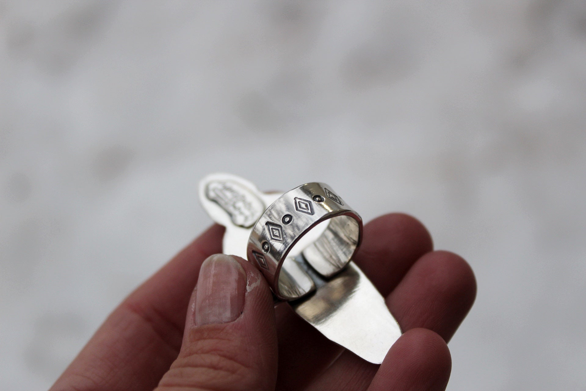 Bull Skull Statement Ring #2