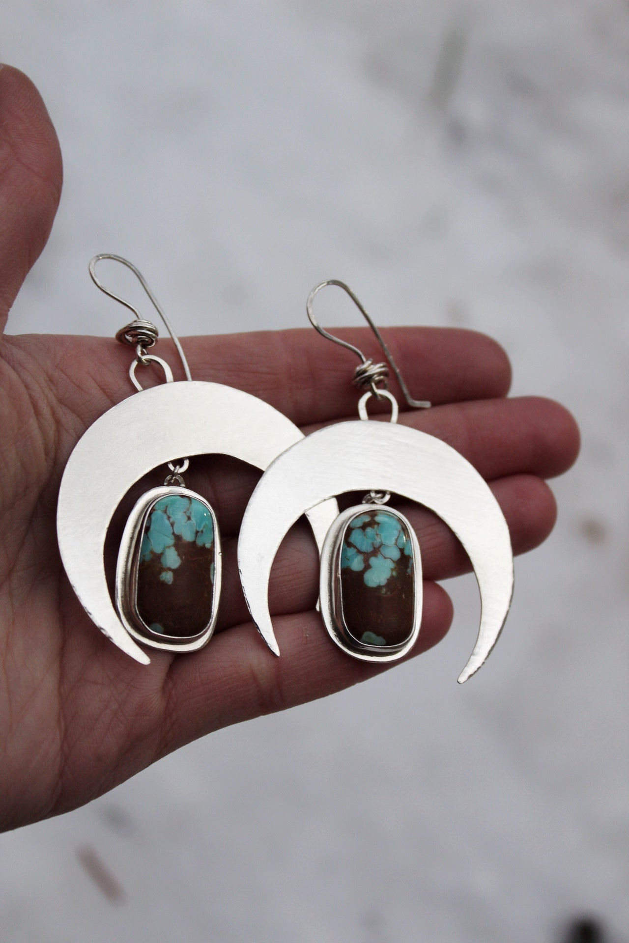 Crescent Moon Earrings #11