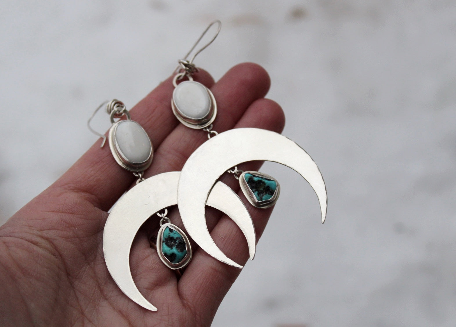 Crescent Moon Earrings #12
