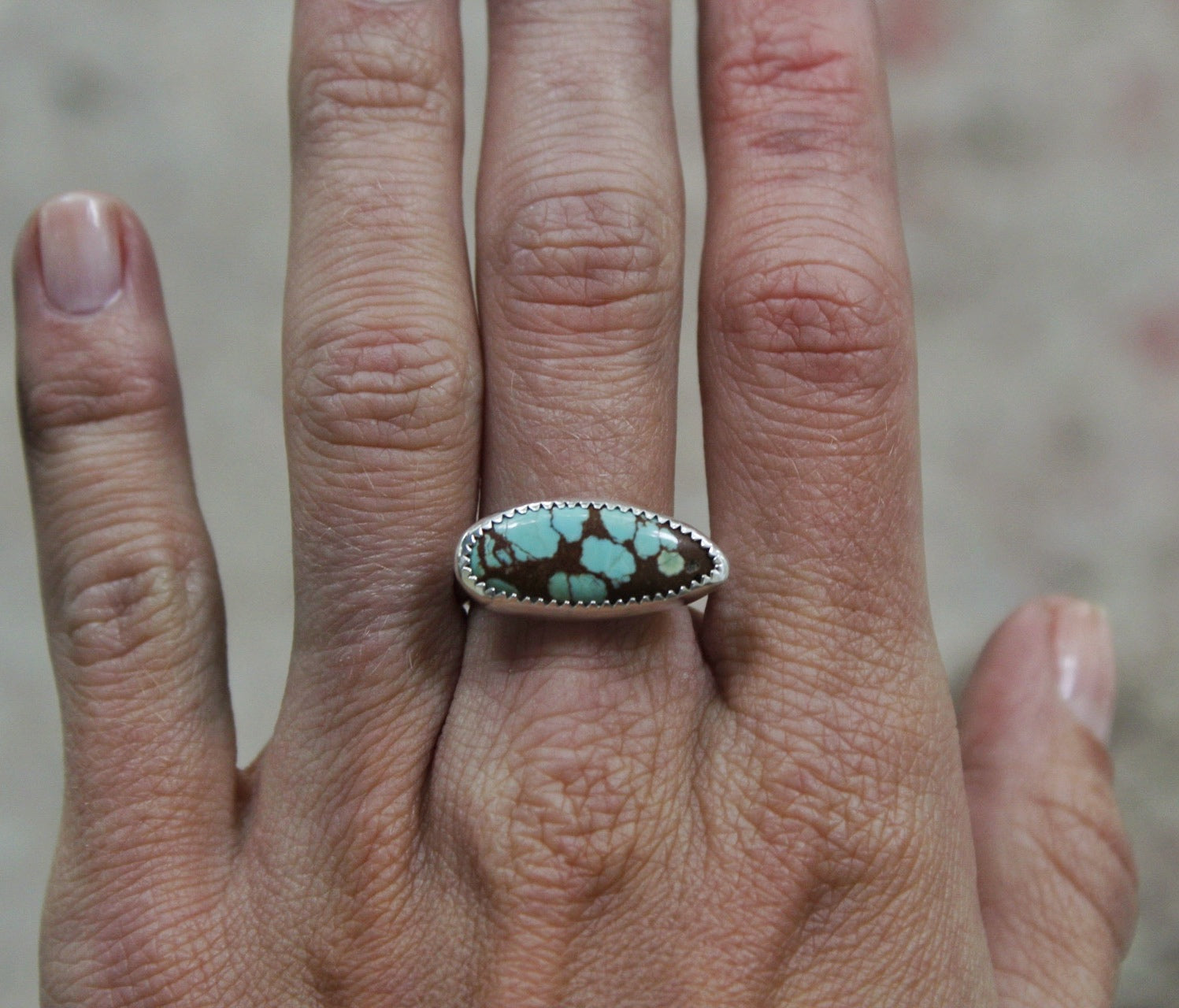 Horizontal Ring #62- Size 7