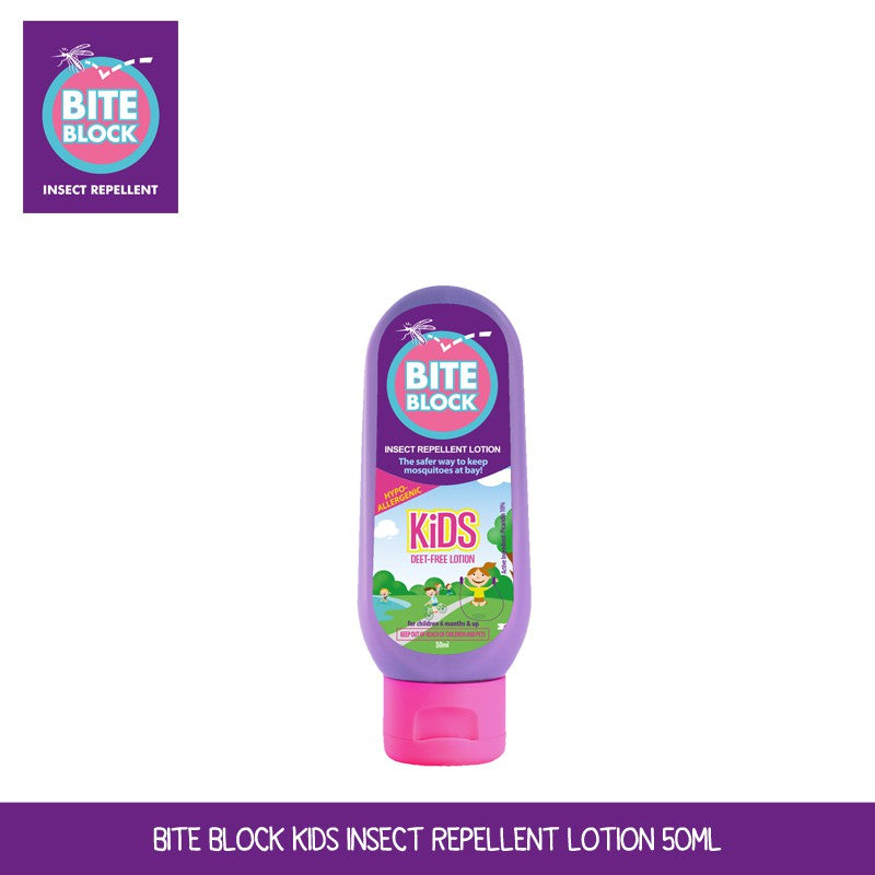 Bite Block Kids Insect Repellent Lotion