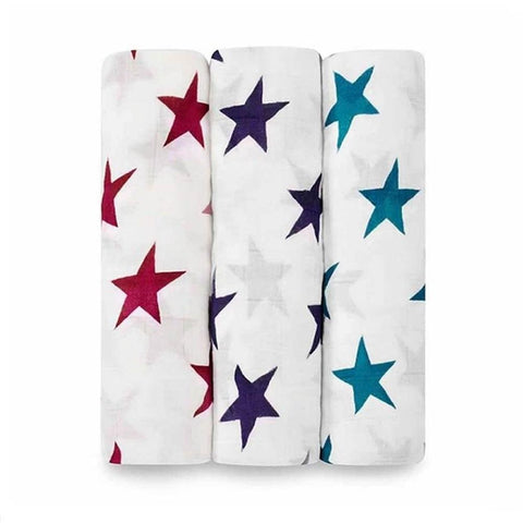 Aden + Anais Bamboo 3-pack Swaddle - Celebration