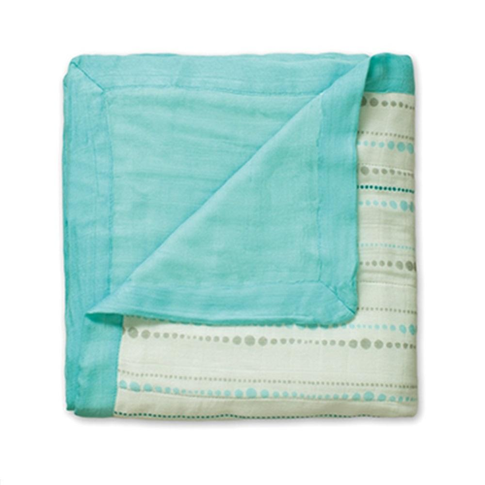 Aden + Anais Bamboo Dream Blanket - Azure Beads