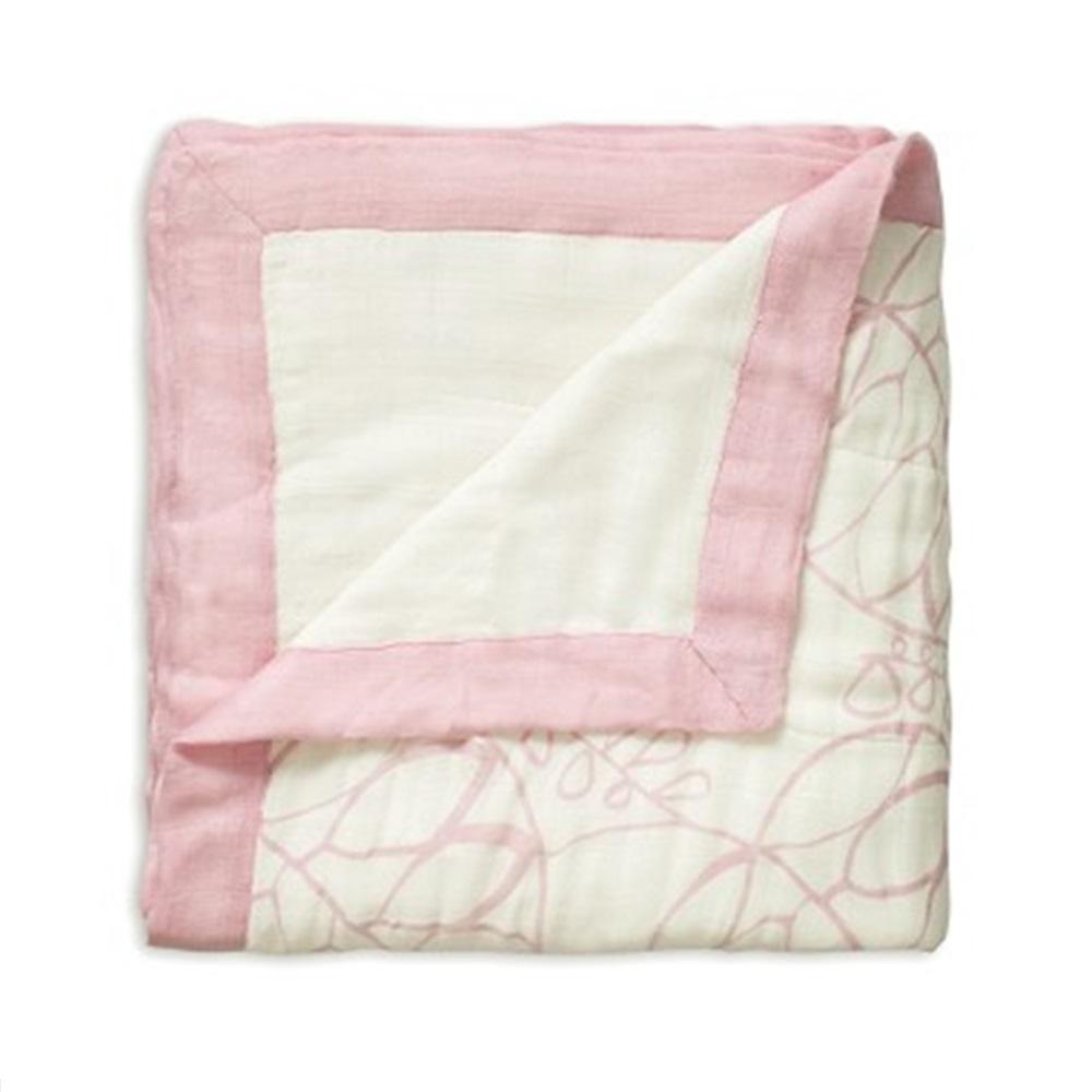 Aden + Anais Bamboo Dream Blanket - Tranquility Leafy