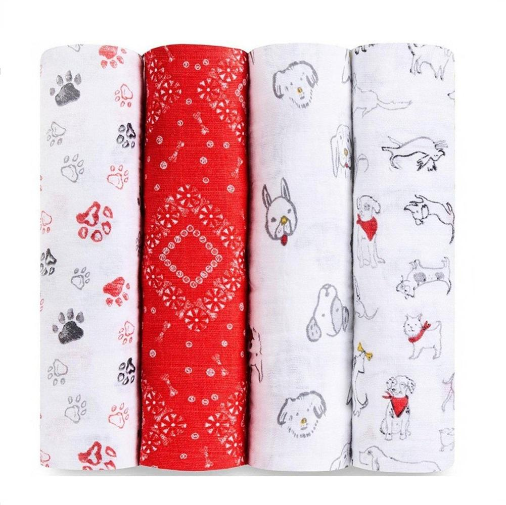 Aden + Anais Classic 4-pack Swaddle - Year of the Dog