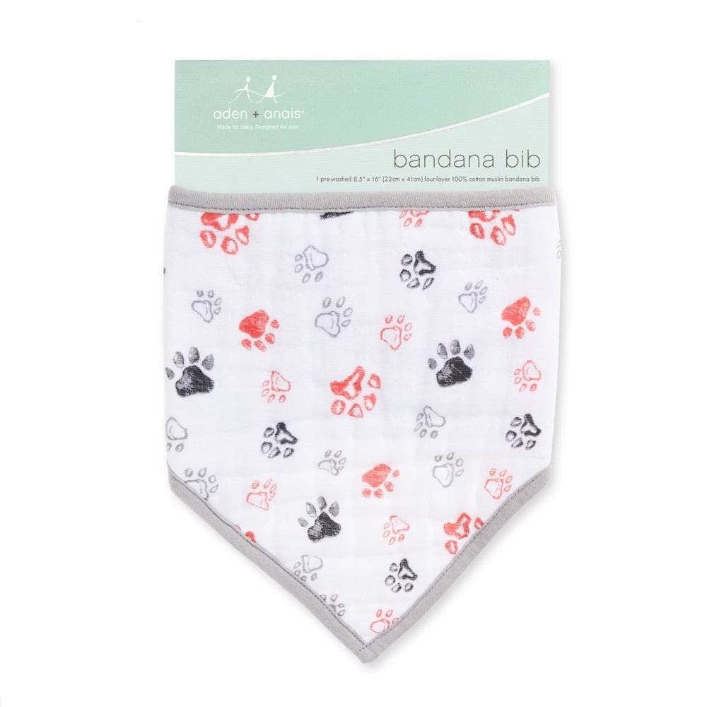 Aden + Anais Classic Bandana Bib – Year of the Dog Paw