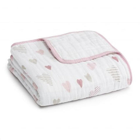 Aden + Anais Classic Dream Blanket – Heartbreaker