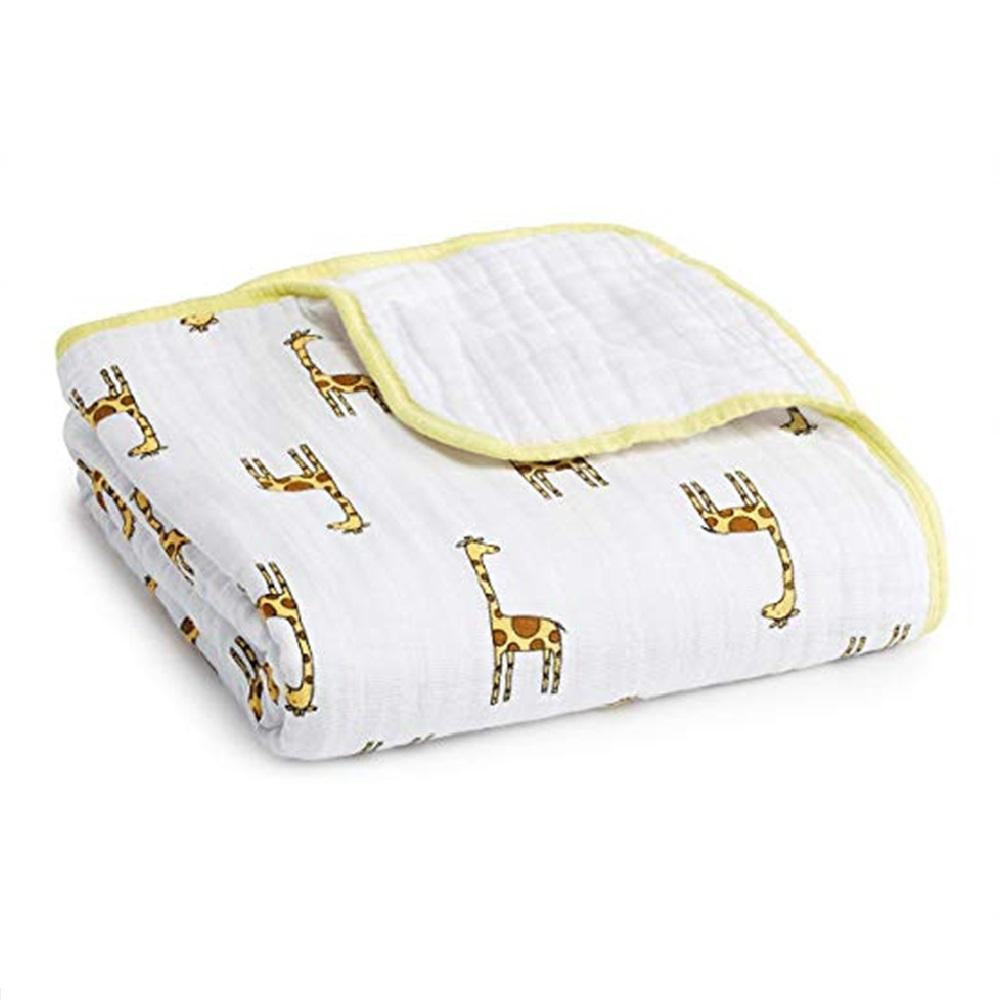 Aden + Anais Classic Dream Blanket – Jungle Jam Giraffe