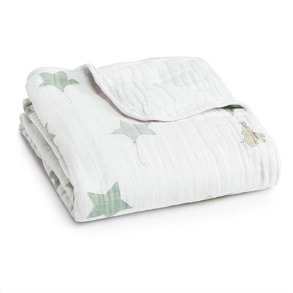 Aden + Anais Classic Dream Blanket – Up Up & Away Elephant