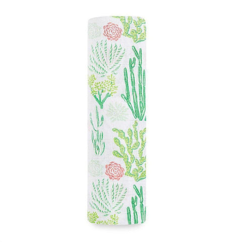 Aden + Anais Classic Single Swaddle  – Cactus Blooms