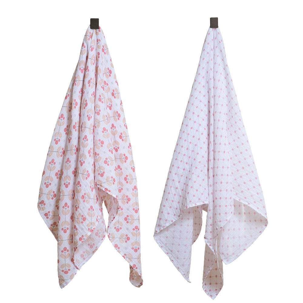 Swaddle Blanket Set - Premium Muslin