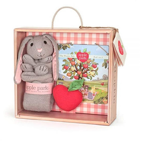 Blankie Book & Rattle Set