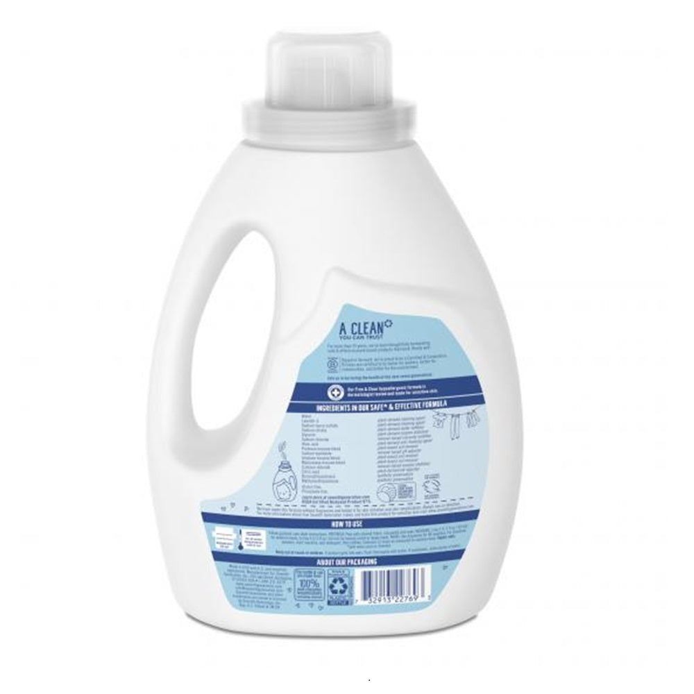 Liquid Laundry Detergent 2x Ultra Concentrate - Free & Clear 1.47L
