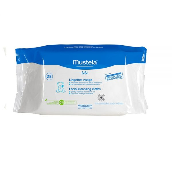 Facial Cleansing Cloths x 25 wipes