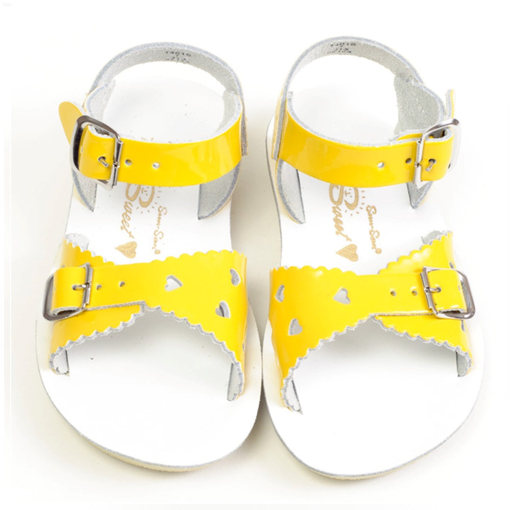 Kids Sweetheart Premium in Shiny Yellow