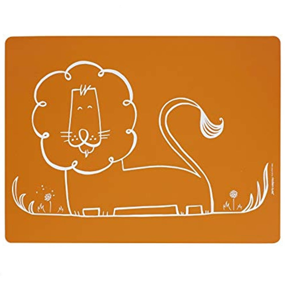 Meal Mat – Dandy Lion Orange
