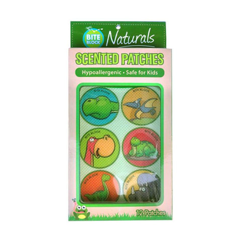 Bite Block Naturals Citronella Patches (2packs)