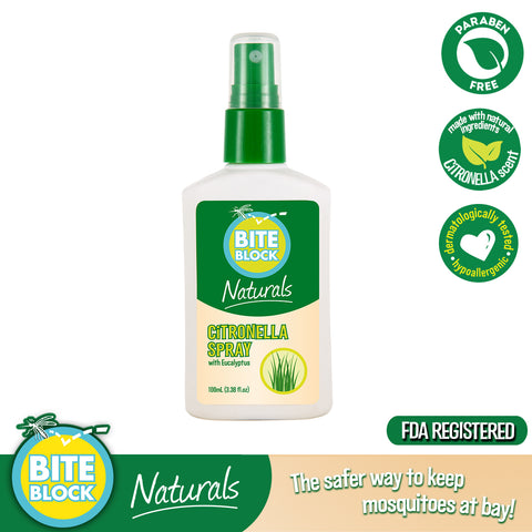Bite Block Naturals Citronella Spray 100mL