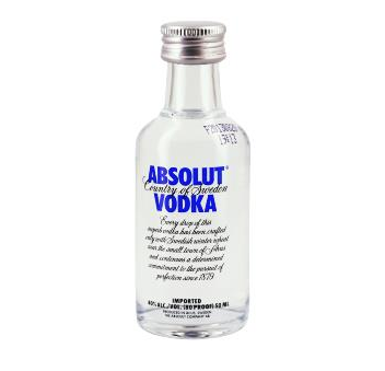 Mignonnette de vodka Absolut