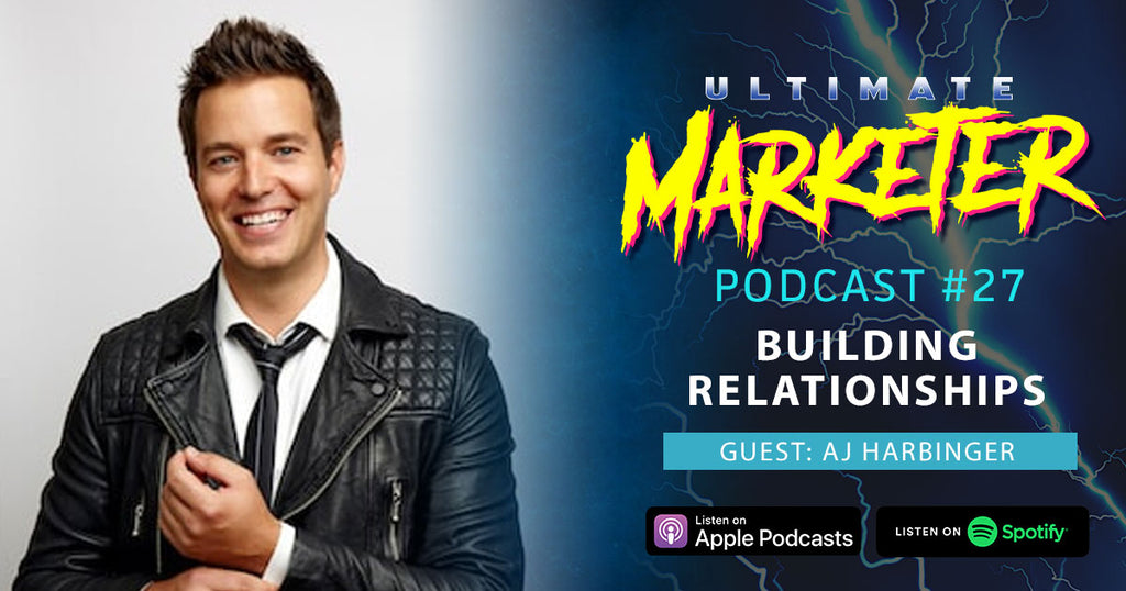 #27 Building Relationships with AJ Harbinger of The Art of Charm