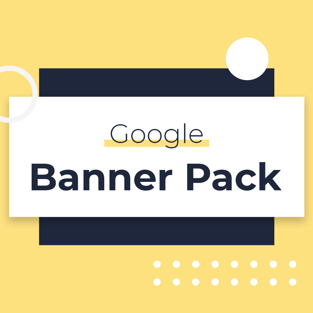 Google Display Banner Pack