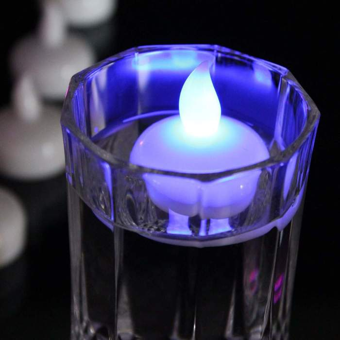 Waterproof Flameless Floating Tealights