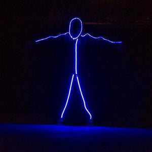RGB COLOR LIGHT UP LED STICK FIGURE KIT-Buy two offers for $13
