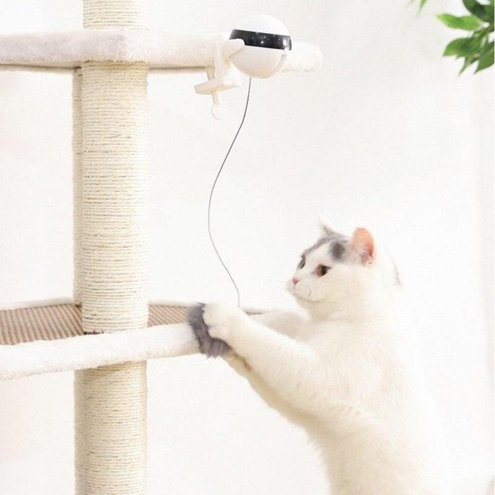 Simulated Person Automatic Cat Toy