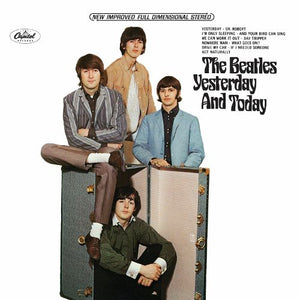 The Beatles - Yesterday and Today Album Cover Vinyl Clock