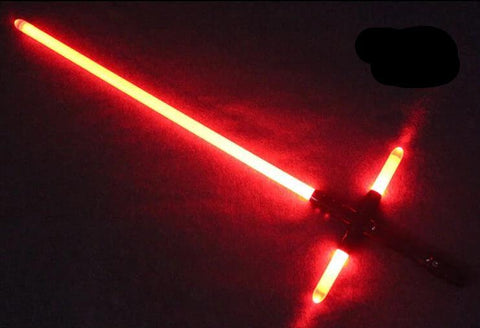 GENIUS Crossguard Metal lightsaber for Kylo Ren - Xpecialify