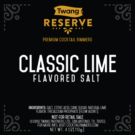 Classic Lime Flavored Salt