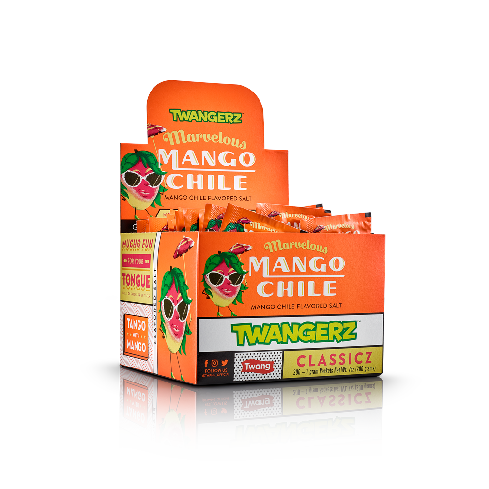Twangerz Mango Chile Packet Box (200ct)