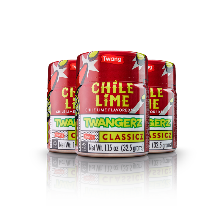 Twangerz Chile Lime Salt Shakers (3ct)