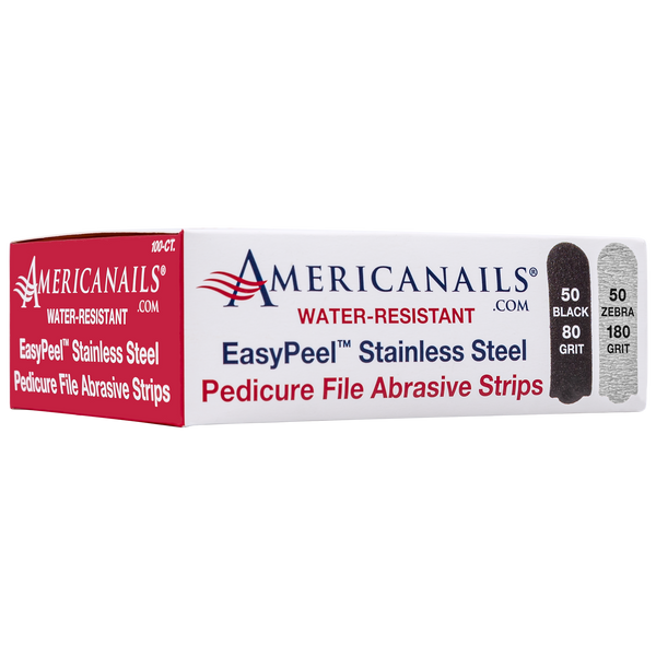 Americanails EasyPeel Pedicure Abrasive Strips 100ct