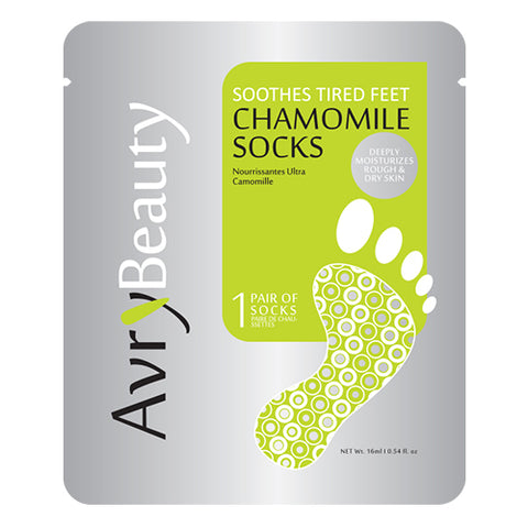 AvryBeauty Waterless Pedicure Socks (Chamomile)
