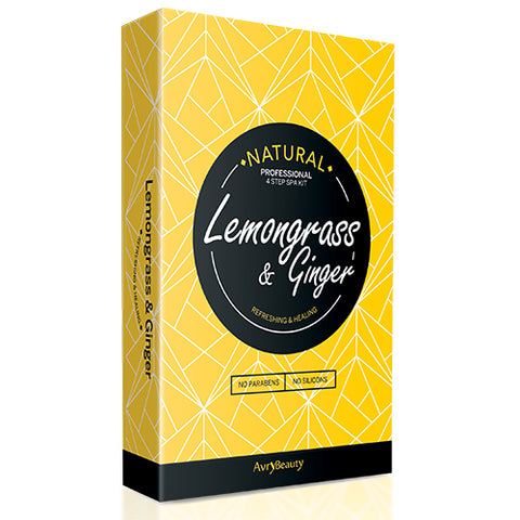 Lemongrass & Ginger | 4-Step Spa Kit
