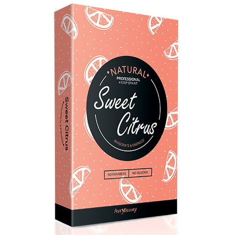 Sweet Citrus | 4-Step Spa Kit