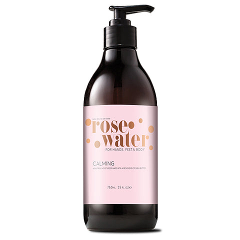 Rose Water Hand & Body Cream (25oz)