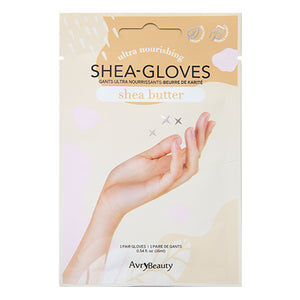 AvryBeauty Waterless Manicure Shea Butter Gloves | Shea Butter