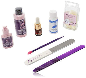 Glass Glaze Fiberglass and Silk Wrap System Complete Starter Kit