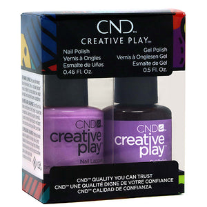 CND Creative Play Gel Polish & Lacquer | A Lilac-y Story Duo