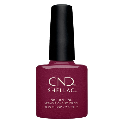 CND Shellac | Rebellious Ruby .25oz